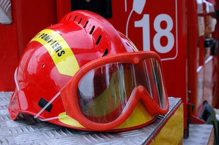 Un pompier blessé dans un accident