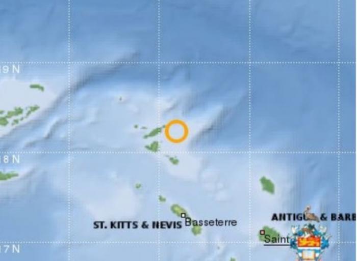 Un séisme dans les îles du Nord ressenti en Guadeloupe