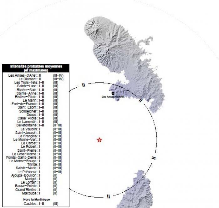 Un séisme de magnitude 3,7 enregistré mercredi après-midi