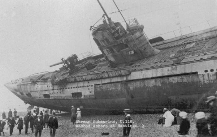 Un sous-marin nazi à Marie-Galante?