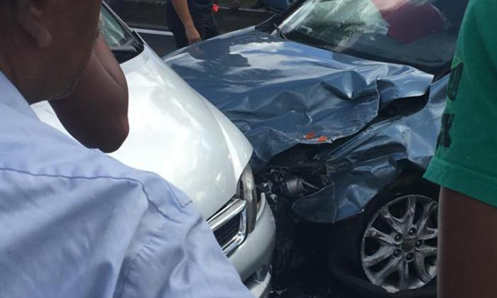 """Un véhicule """"fou"""" blesse 3 personnes à Fort de France"""