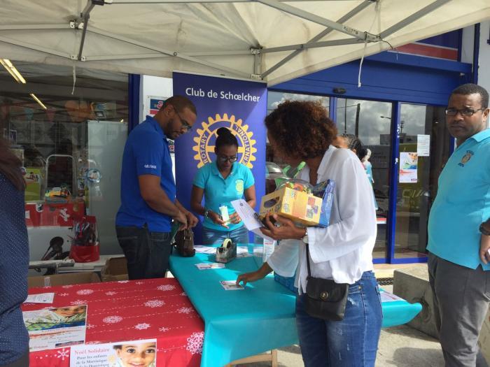 Une collecte de jouets pour les enfants de la Martinique et de la Dominique