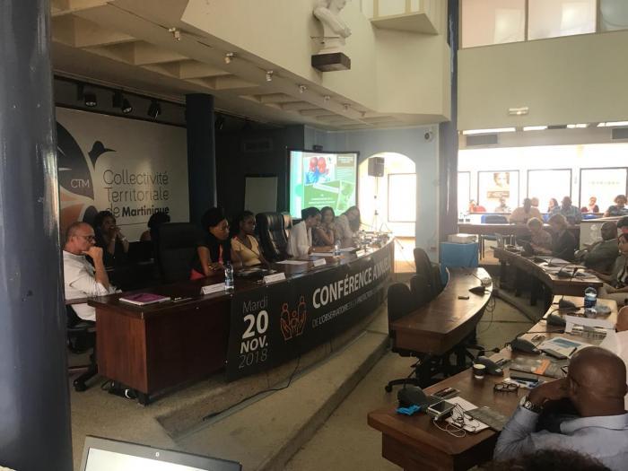 Une conférence sur la protection de l'enfance en Martinique