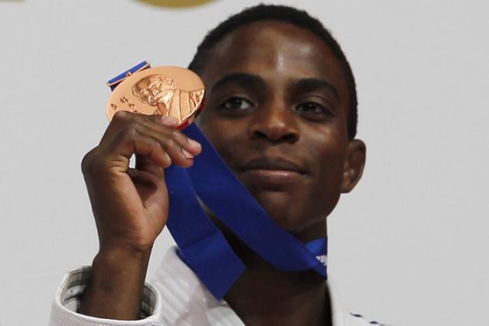Une délégation de l'équipe de France de judo en Martinique