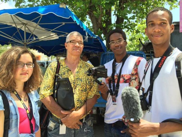 Une délégation martiniquaise au FEMI