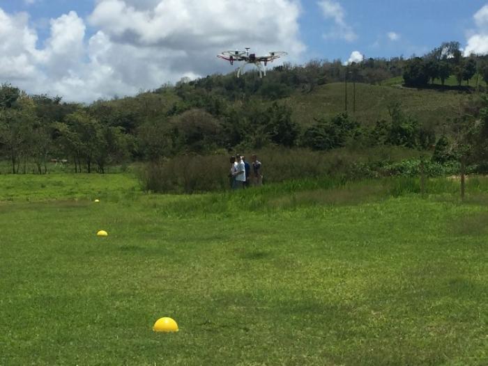 Une formation de pilote de drones en Martinique