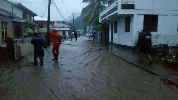 Une grande collecte en faveur des sinistrés de la Dominique