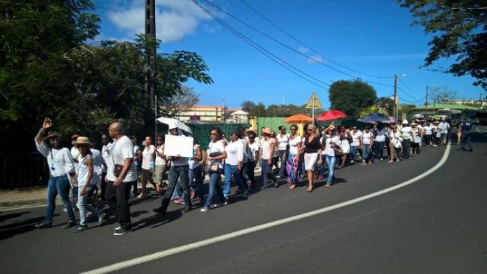 Une marche blanche pour la jeune femme du SIAO