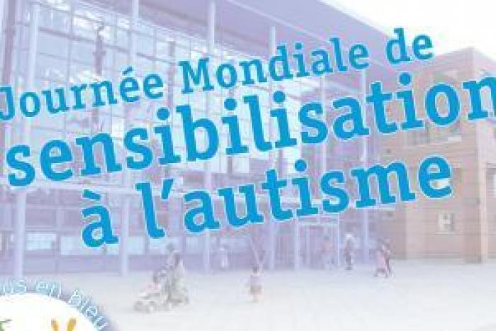 Une marche bleue et un village pour mieux comprendre l'autisme