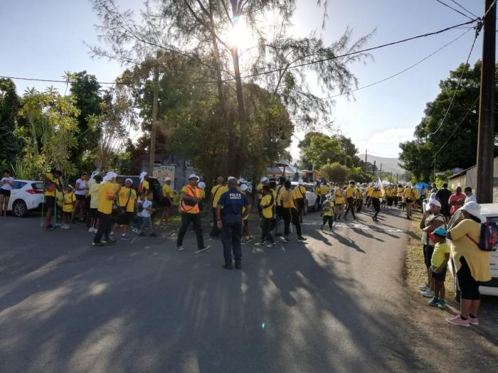 Une marche silencieuse pour Malick Bégarin