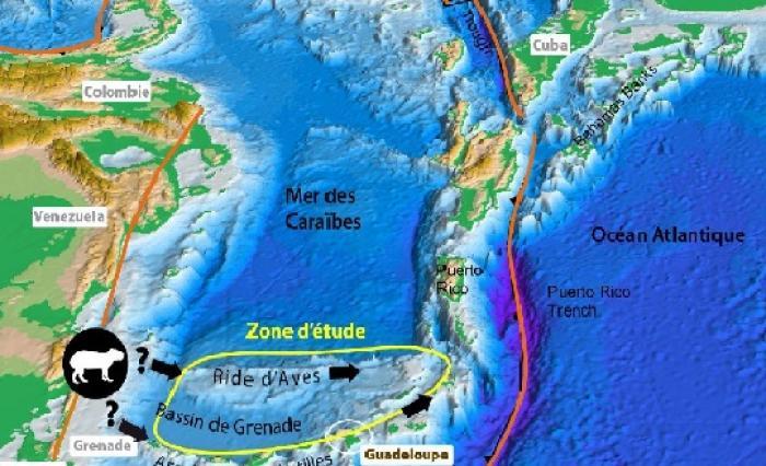 Une mission océanographique d'envergure dans les Caraïbes