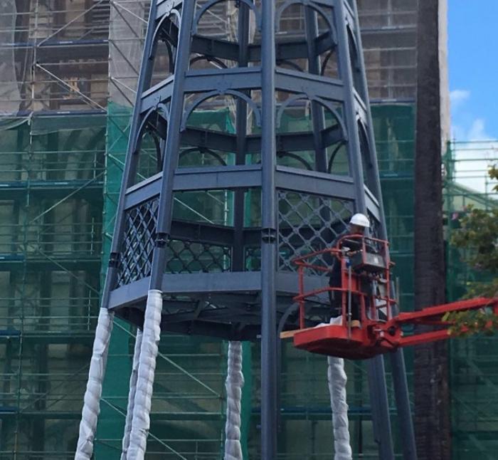 Une nouvelle flèche pour la cathédrale Saint-Louis bientôt en place
