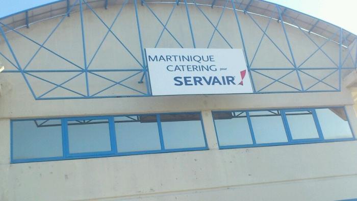 Une partie du personnel de Martinique Catering mobilisée