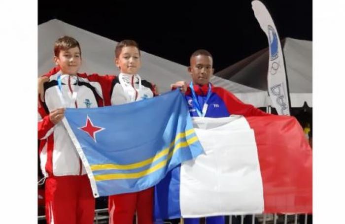 Une première médaille pour la Martinique aux Carifta Games grâce à Alexandre Joséphine