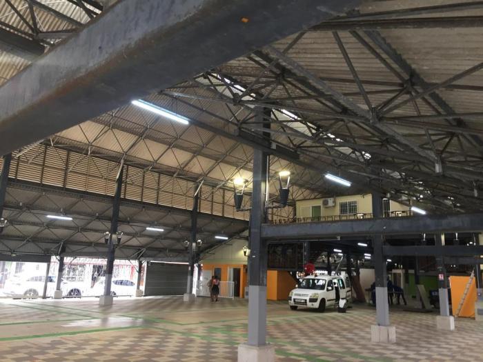 Une réouverture du grand marché couvert de Fort-de-France d'ici deux semaines