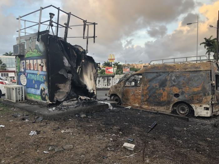 Une station Madininair ravagée par un incendie