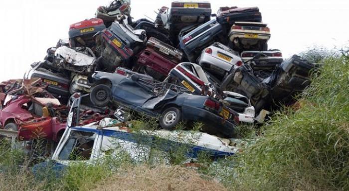 Une trentaine de véhicules hors d'usage saisis à Capesterre Belle-Eau