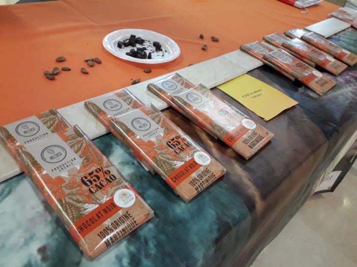 Valcaco sort sa toute première tablette de chocolat 100% Martiniquaise