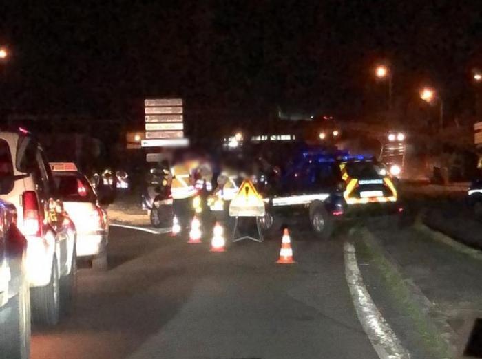 Vaste opération de contrôles routiers à Schoelcher, ce vendredi