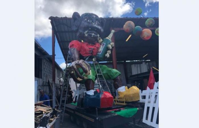 Vaval 2019 : l'énigmatique roi du carnaval fait sa première sortie