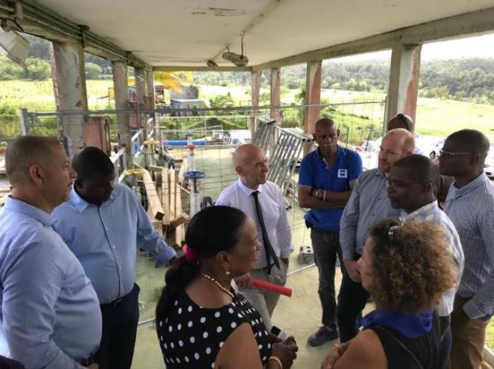 Vernou : début du chantier de réhabilitation de l'usine de production d'eau