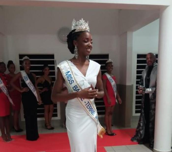 Villynda Michel couronnée Miss Basse-Terre 2019