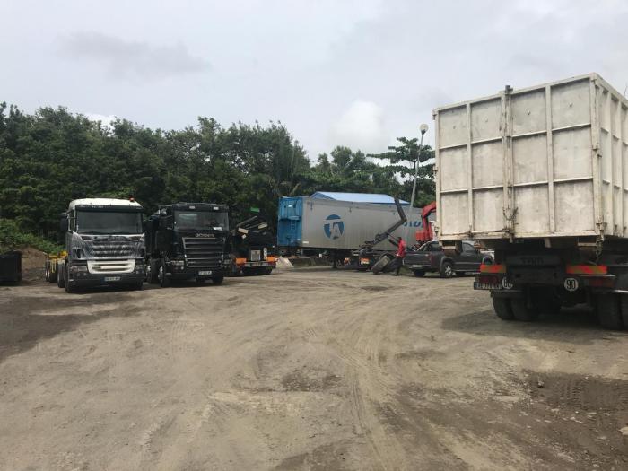 Volga Plage interdit aux transporteurs