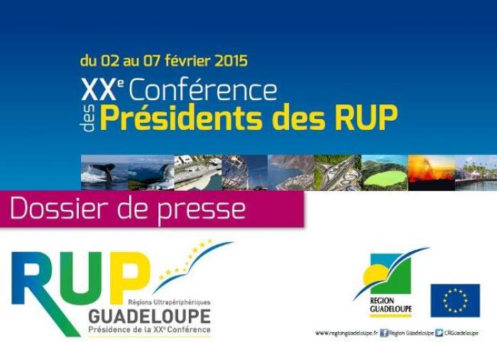 XXème conférence des RUP en Guadeloupe