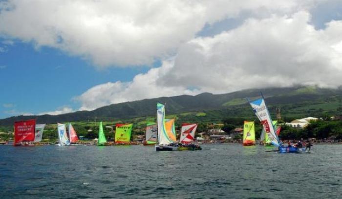 Yoles : le grand prix des associations s'est disputé ce dimanche au Marin