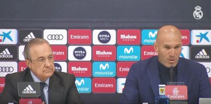 Zinédine Zidane met fin à son contrat avec le Real Madrid