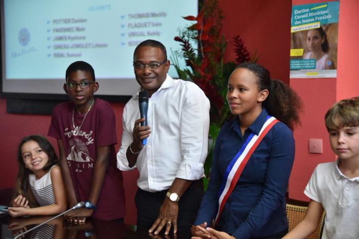 Zion Dupin de Majoubert est la nouvelle mairesse junior de Fort-de-France